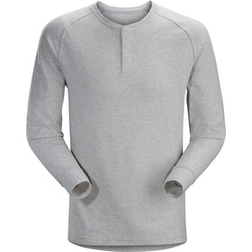 Arc'teryx Sirrus Longsleeve Henley Heren, delos grey heather
